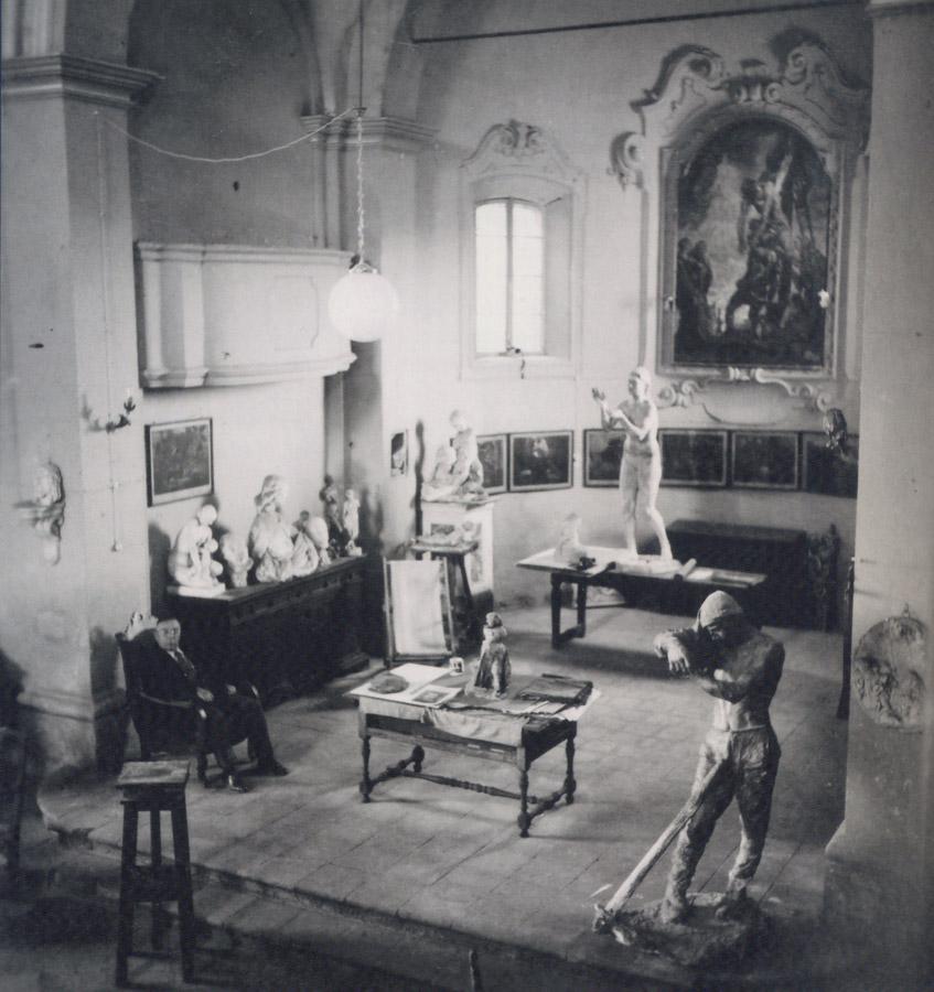 Giuseppe Graziosi e il Castello di Maranello
