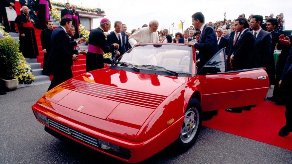 Giovanni Paolo II in Ferrari