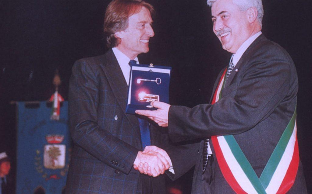 La cittadinanza onoraria a Luca Montezemolo