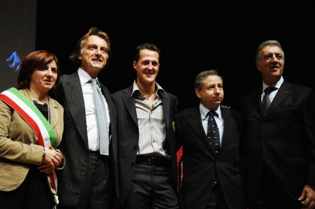 La cittadinanza onoraria a Michael Schumacher
