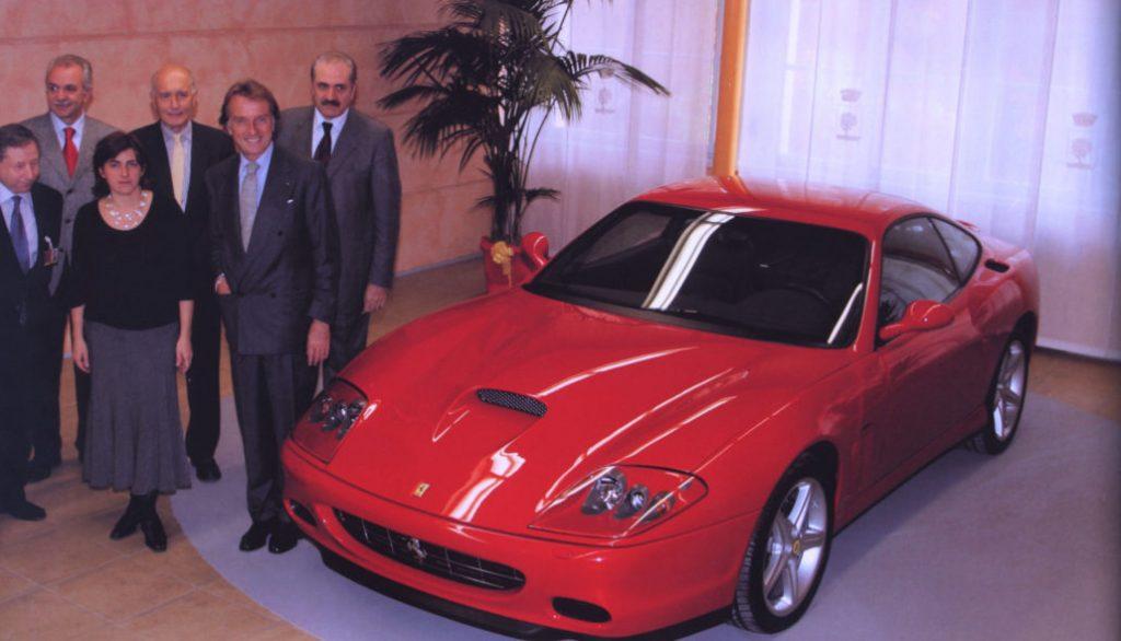La Ferrari in dono al Comune