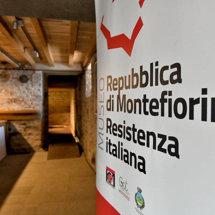 Entrata del Museo della Resistenza a Montefiorino