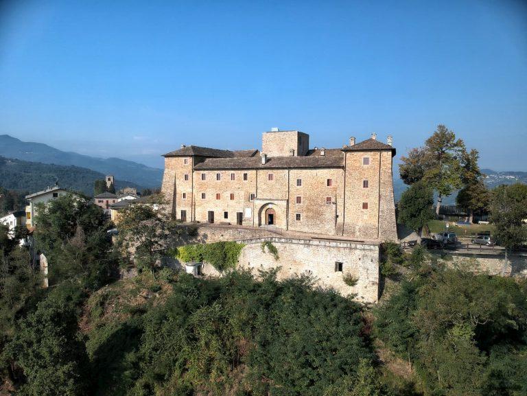 La Rocca di Montefiorino immersa nel verde