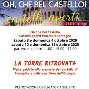 """Locandina dell'evento """"Oh che bel Castello"""""""