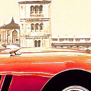 Raduno di auto storiche sulle strade di Enzo Ferrari