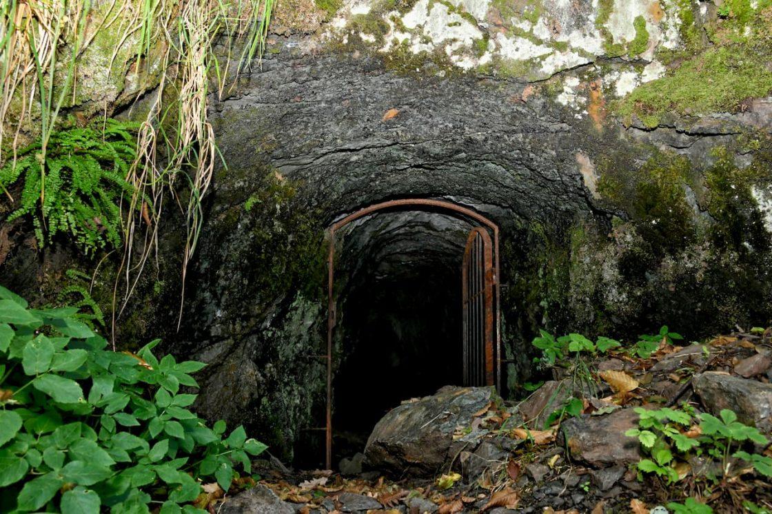 L'ingresso delle Miniere di Rame a Palagano